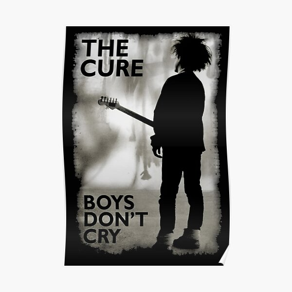 The-cure-Boys-dont-Cry Poster