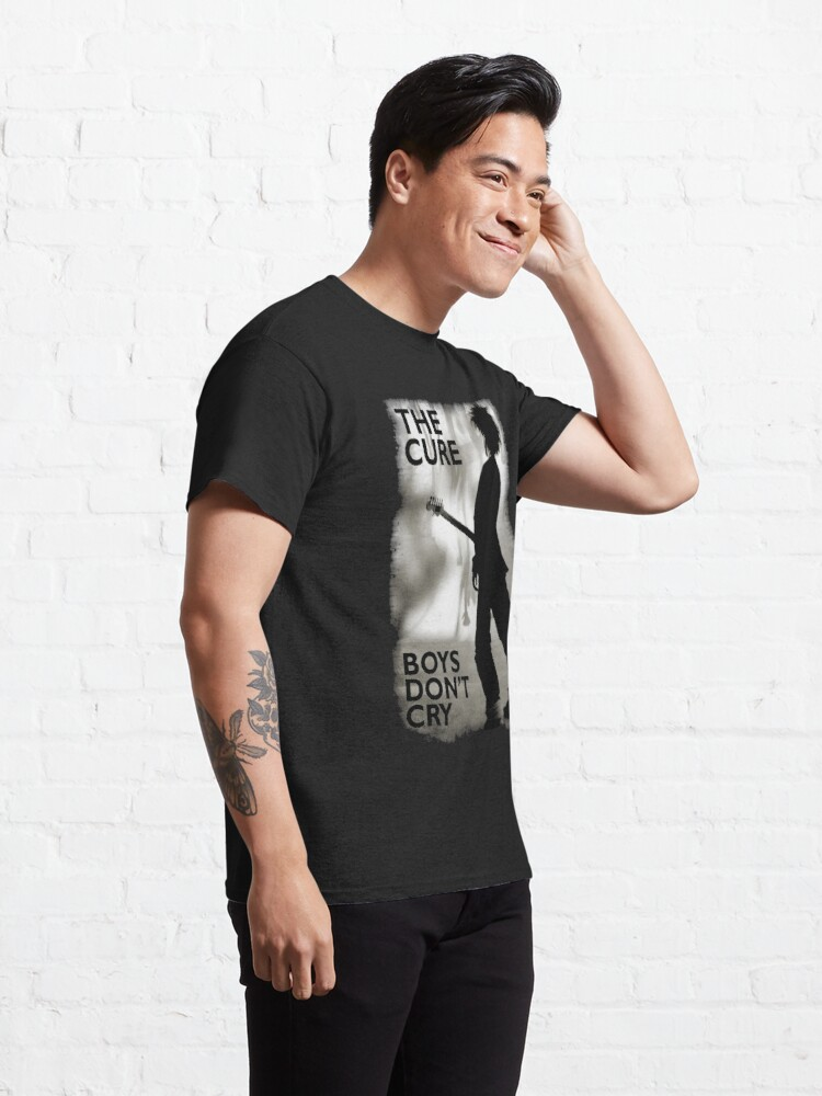 Alternate view of The-cure-Boys-dont-Cry Classic T-Shirt