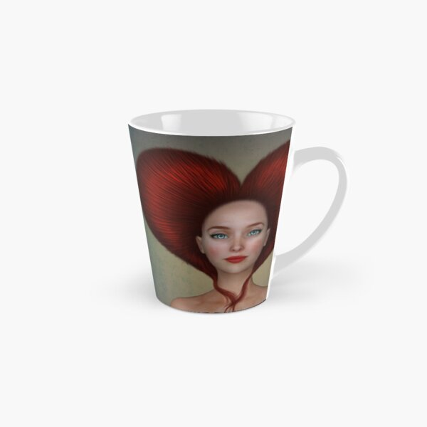 Queen of hearts portrait Tall Mug