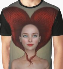 Queen of hearts portrait Graphic T-Shirt