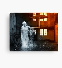 The Rain Inside Canvas Print