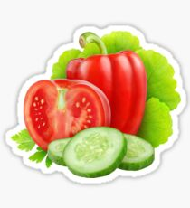 Fresh vegetables Sticker