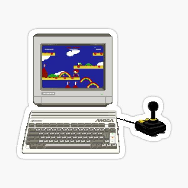 Commodore Amiga 600 Retro Gaming - Original Pixel Art Sticker