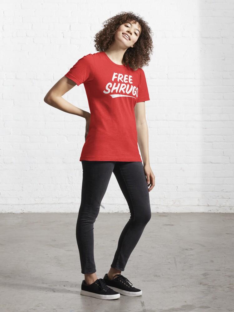 Alternate view of Free Shrugs Essential T-Shirt
