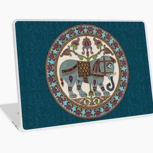 Byzantine elephant Medieval illumination Laptop Skin