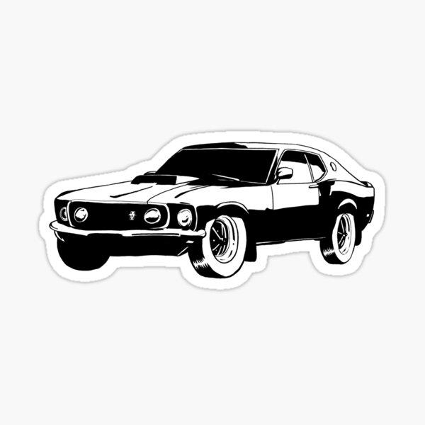 mustang boss 1969 Sticker