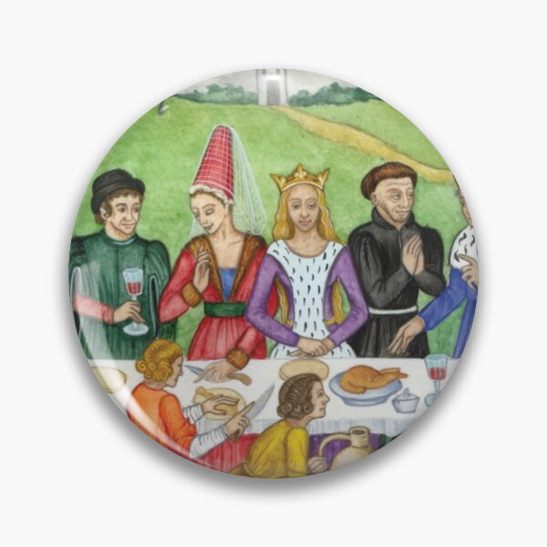 Medieval Feast Illumination Pin