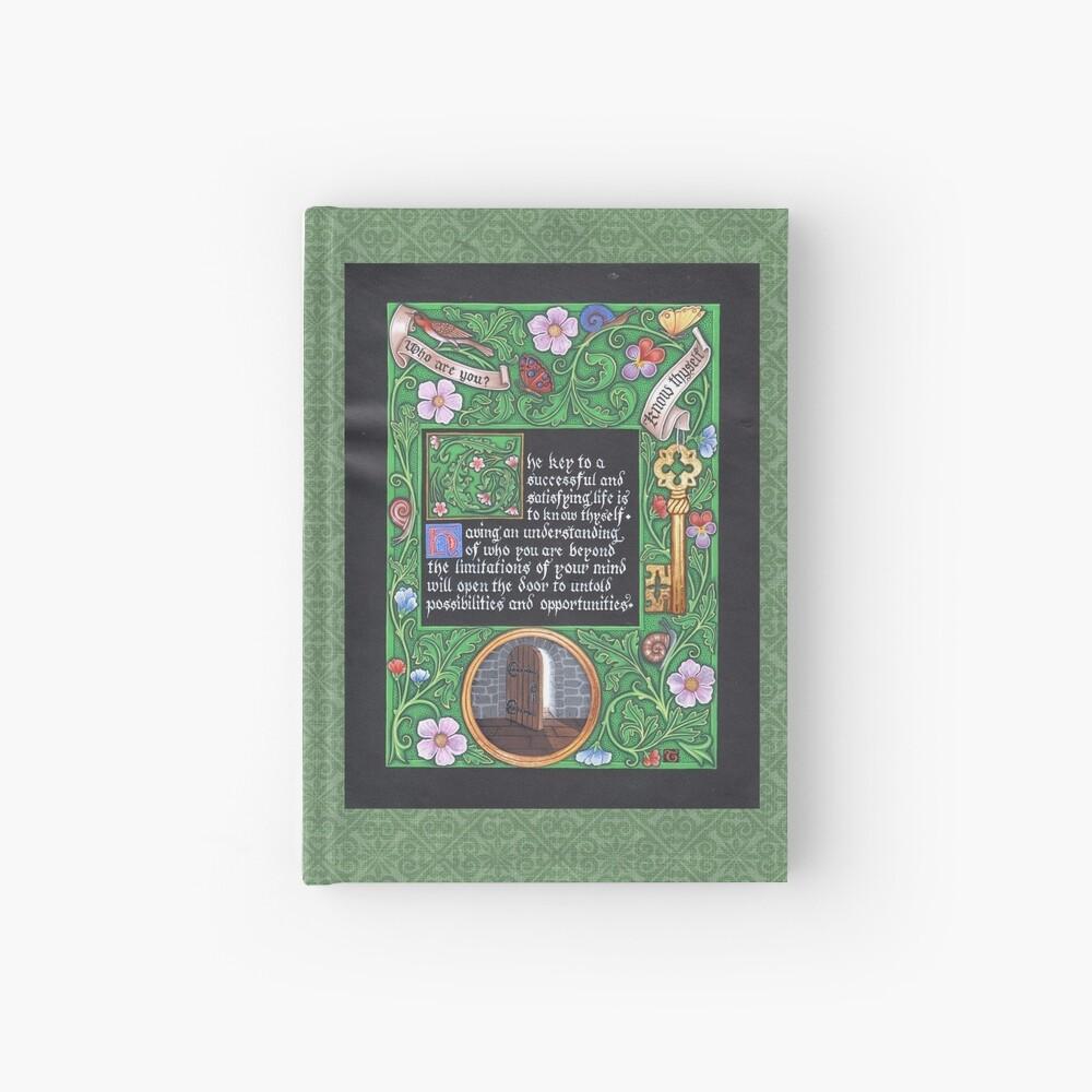 Medieval Illumination - Know Thyself Hardcover Journal