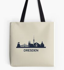 Dresden City Skyline Tote Bag