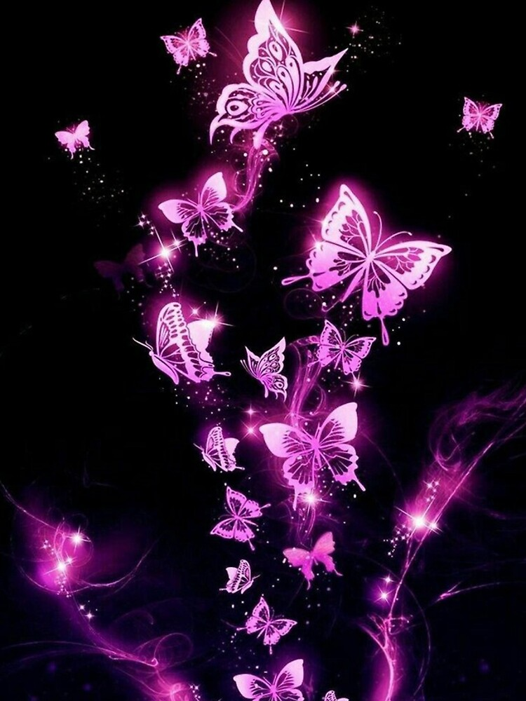 Neon Butterflies by ReesDesigns