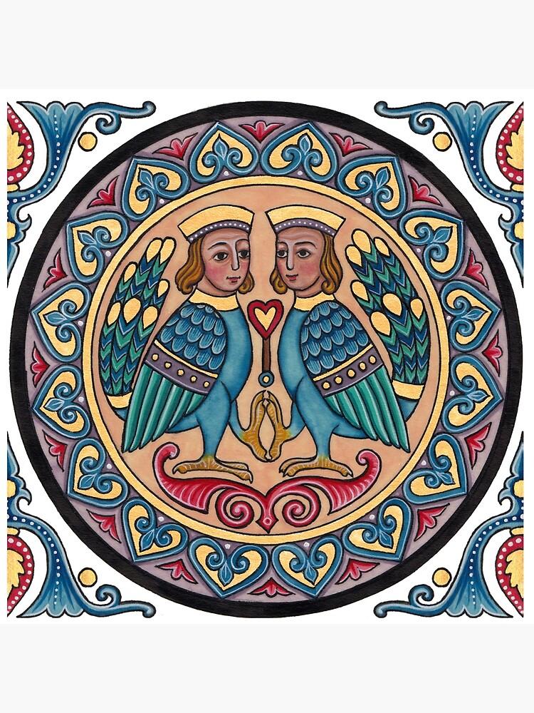 Medieval Armenian Harpies by TCilluminate