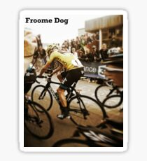 Froome Dog Sticker