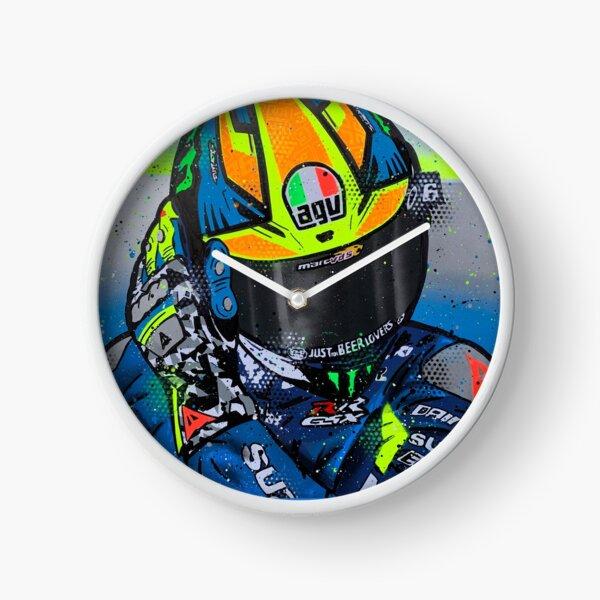 Joan Mir - MotoGP graffiti painting by DRAutoArt Clock