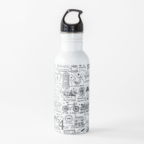 When I'm Sixty Four Water Bottle