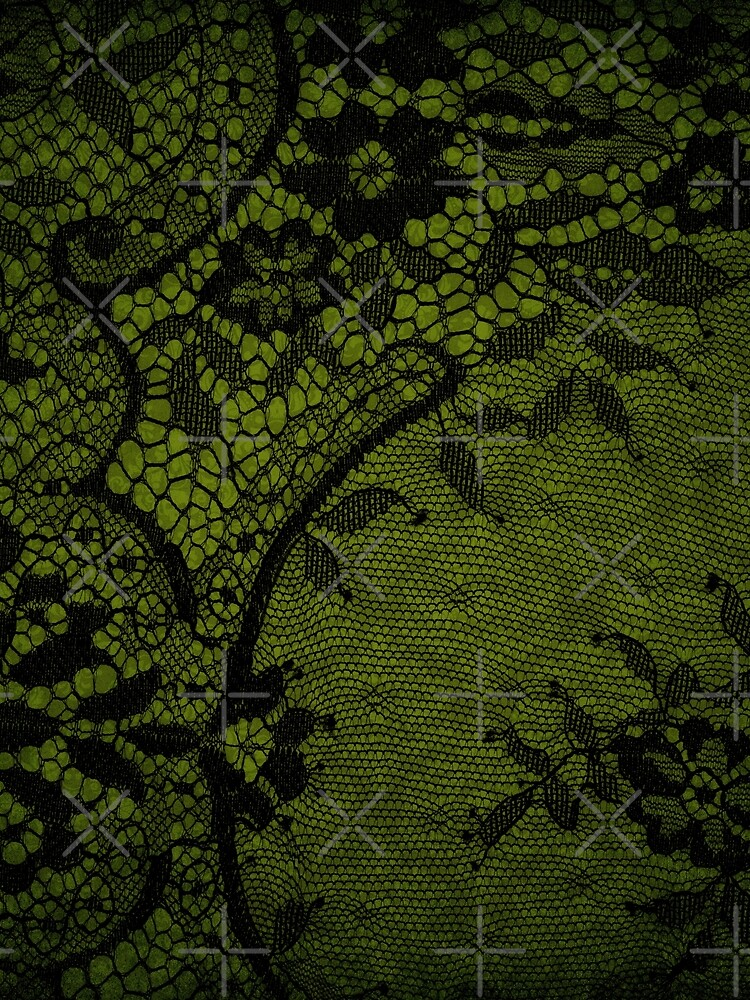 Beautiful Black Gothic Lace texture  by MysticMarble