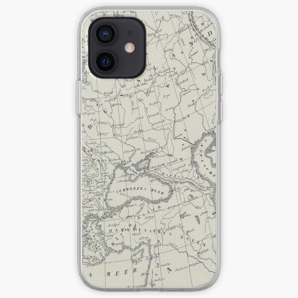 Vintage Map iPhone Soft Case