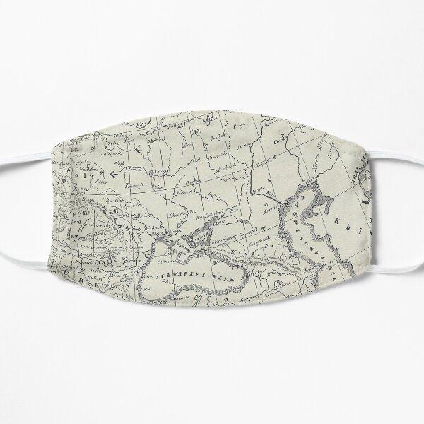 Vintage Map Flat Mask
