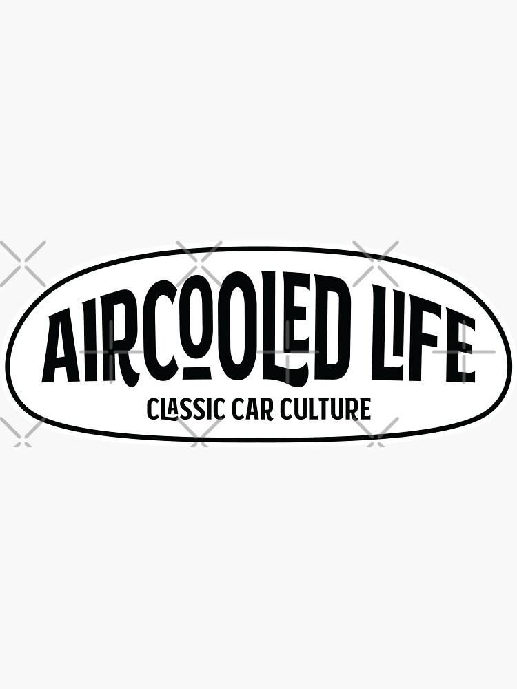 Aircooled Life - Classic Car Culture Logo by Joemungus