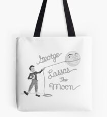 George Lassos the Moon Tote Bag