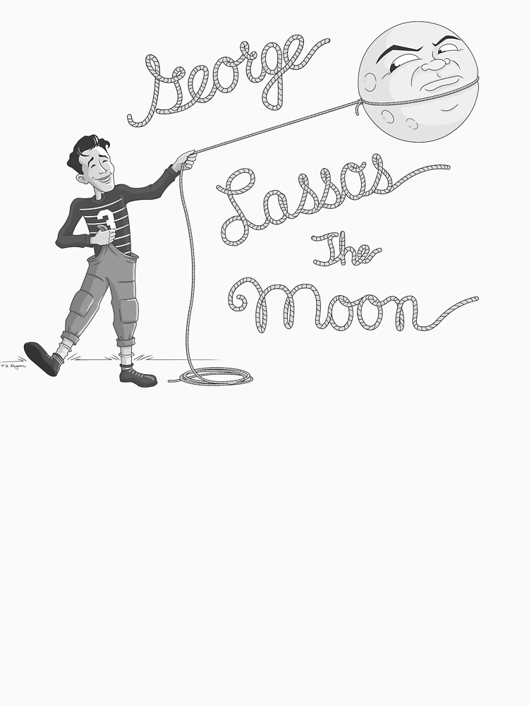 George Lassos the Moon | Unisex T-Shirt