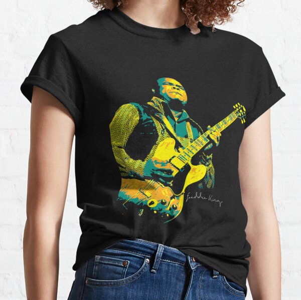 Freddie King Freddie King. an American blues guitarist and singer. Fred King. Classic T-Shirt