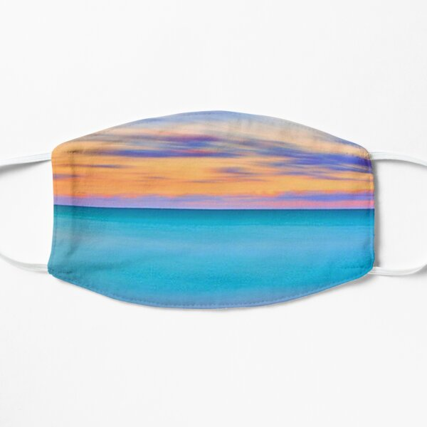 Colorful Pastel Horizon Sunset Flat Mask