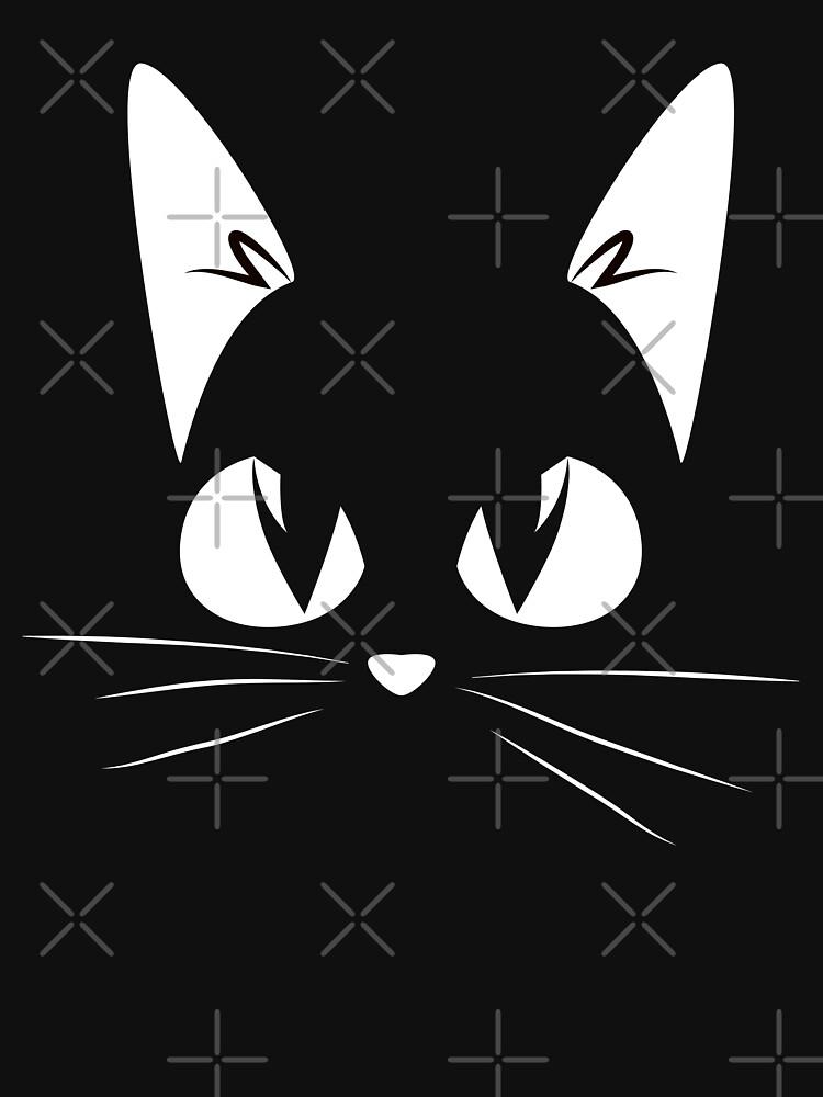 Cat face by Averageconsumer