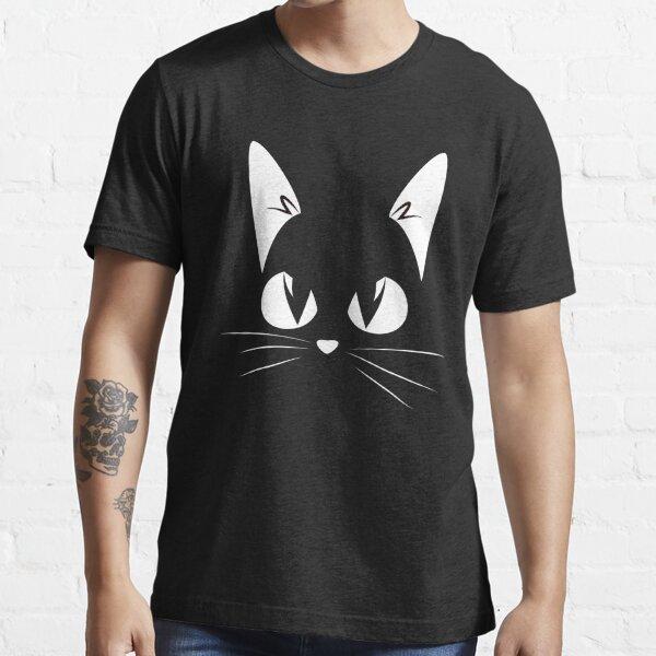 Tête de chat T-shirt essentiel