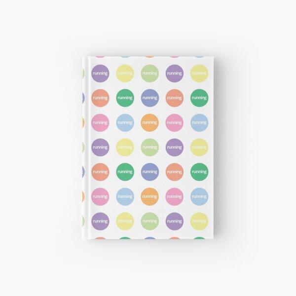 Pastels of Running Hardcover Journal