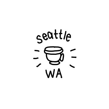 Seattle (coffee drawing) by thirdfocus