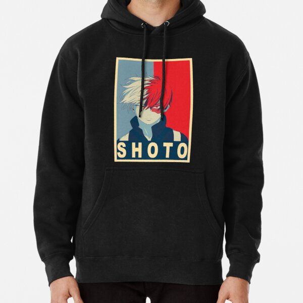 Shoto todoroki Poster Sweat à capuche épais