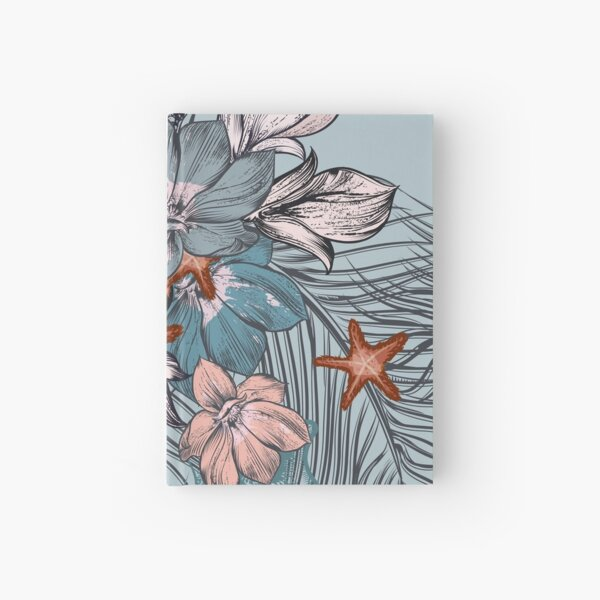 Flowers Pattern Hardcover Journal