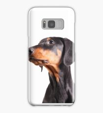 doberman pinscher Samsung Galaxy Case/Skin
