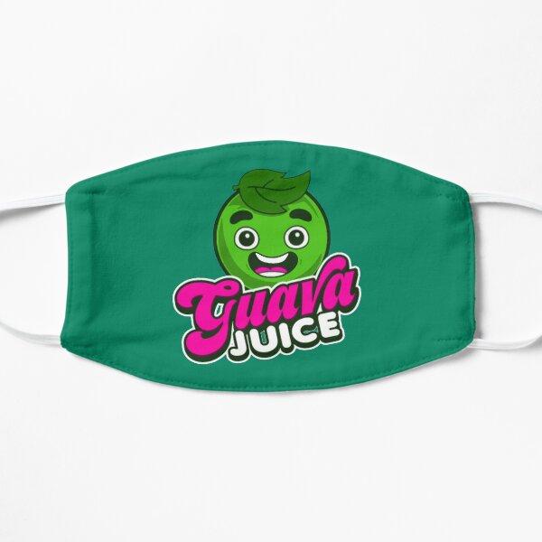 Kids Guava Juice Logo Flat Mask