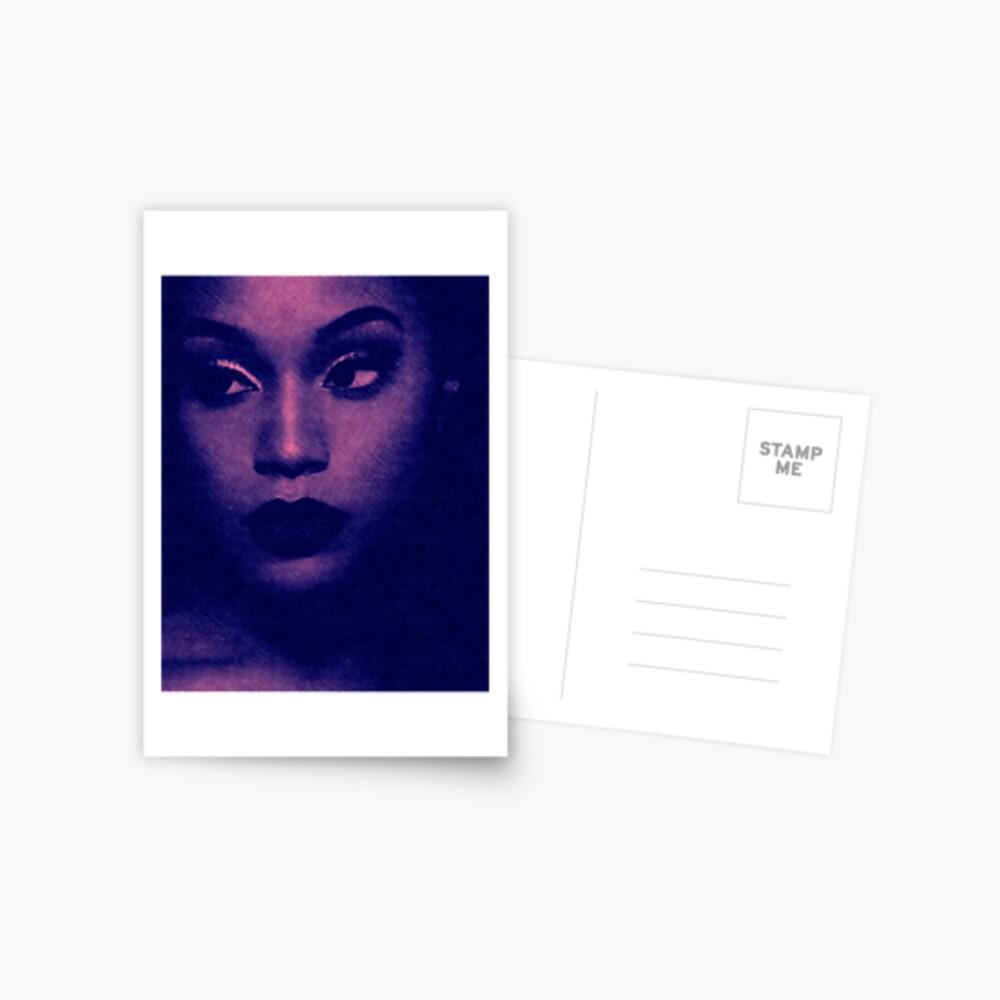 Lady Blues Postcard