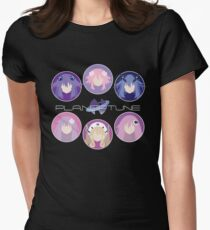 Planeptune Guardians v2 Womens Fitted T-Shirt