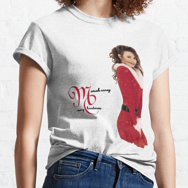 Mans Mariah Carey Merry Christmas Classic T-Shirt