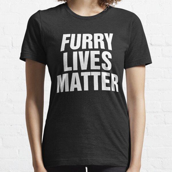 Furry Lives Matter (bold) Essential T-Shirt