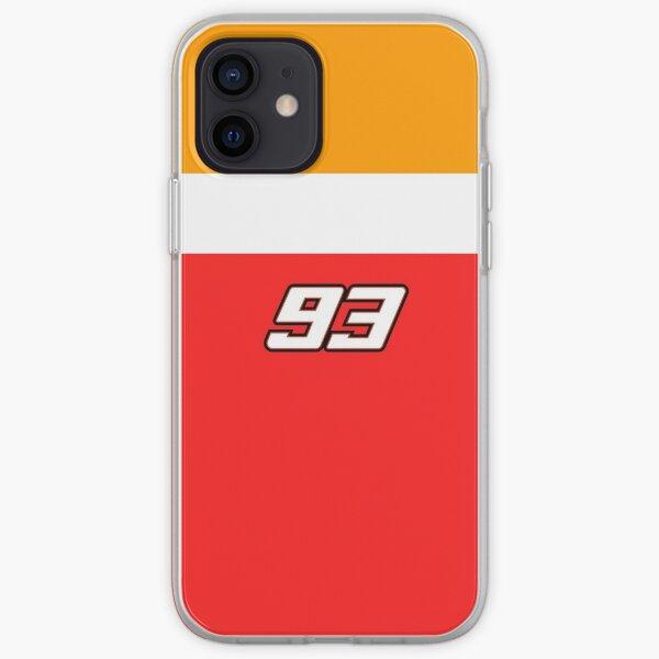 Number 93 Funda blanda para iPhone