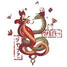Dancing snakes by Harantula