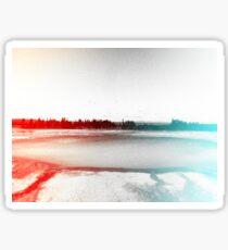 Digital Landscape #10 Sticker