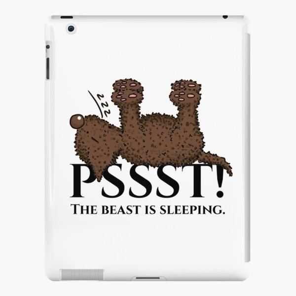 sleeping Lagotto iPad Snap Case