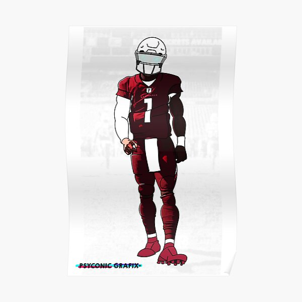 Kyler Murray Iconic Poster Poster
