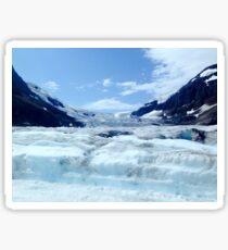 Columbia Icefield, Canada Sticker