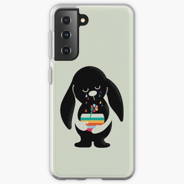 Rainbow Tears Bunny Samsung Galaxy Soft Case
