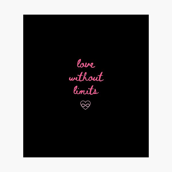 Love without limits  Photographic Print