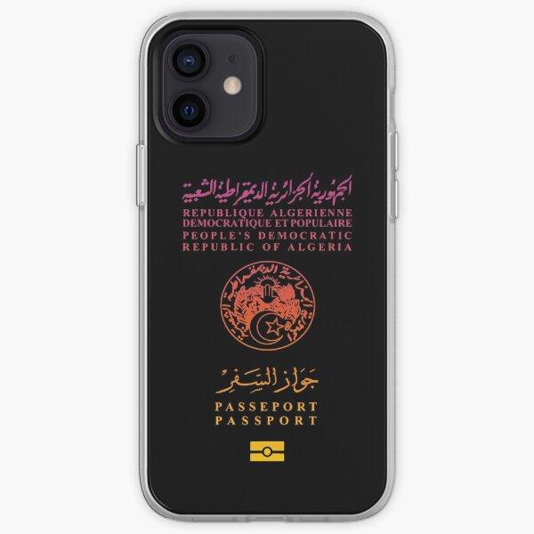 Passeport Algérien Coque souple iPhone