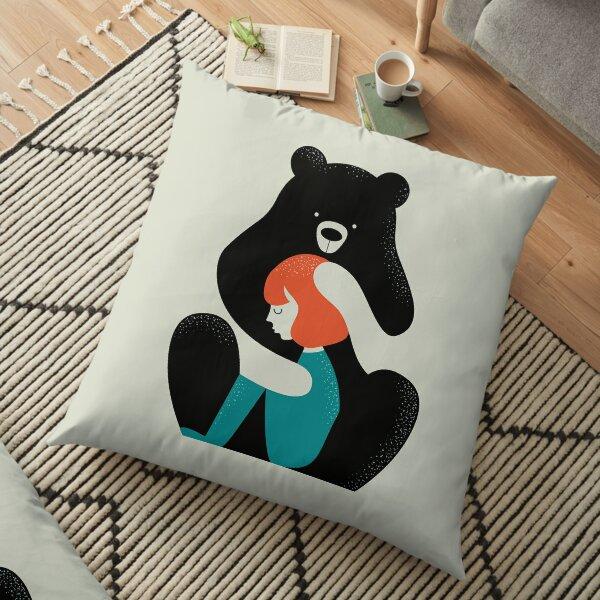 Big Bear Hug Floor Pillow