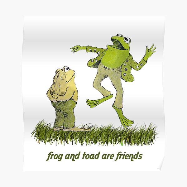 Frog and toad forever Poster