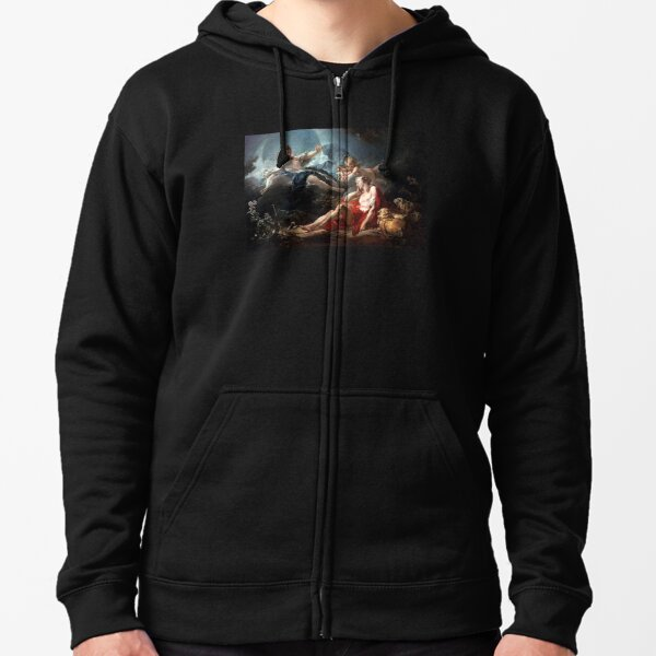 Luca Giordano - Diana and Endymion Zipped Hoodie
